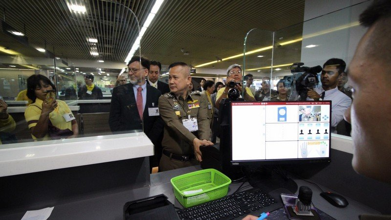 Biometric ID systems installed at Phuket International Airport