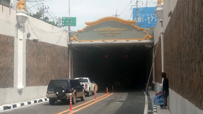 Chalong underpass to open this Friday