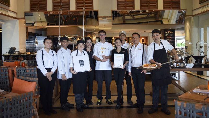 JW Marriott Phuket Resort and Spa's Cucina Italian Kitchen scoops up Thailand Tatler Best Restaurants 2019 award