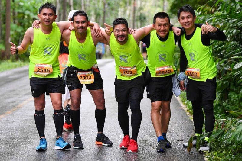 Thai celebrity Somchai Khemkla also joined the run. Photo: Supplied