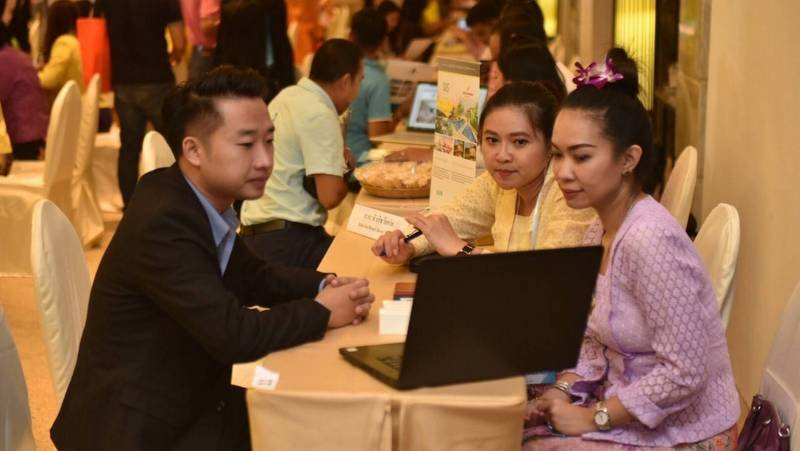The mobile road show was held in Udon Thani on Tuesday (June 25). Photo: TAT