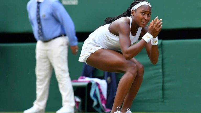 Teenager Gauff stuns idol Venus Williams at Wimbledon