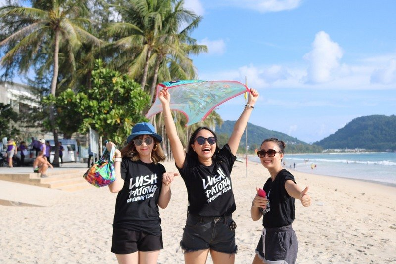 More than 800kg of trash was collected from Patong Beach in the clean-up last Sunday (July 7). Photo: Supplied)