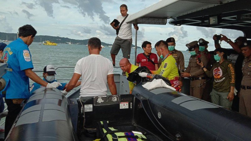 Body of second missing Filipino found off Phuket