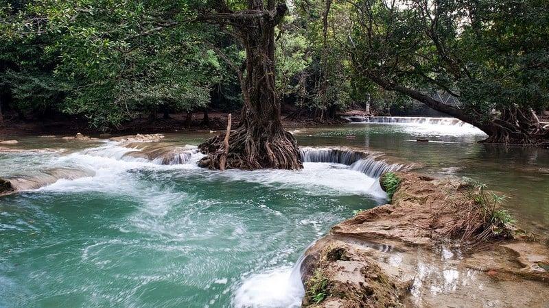 Chet Sao Noi Waterfall, Namtok Chet Sao Noi National Park, Saraburi. Photo: TAT