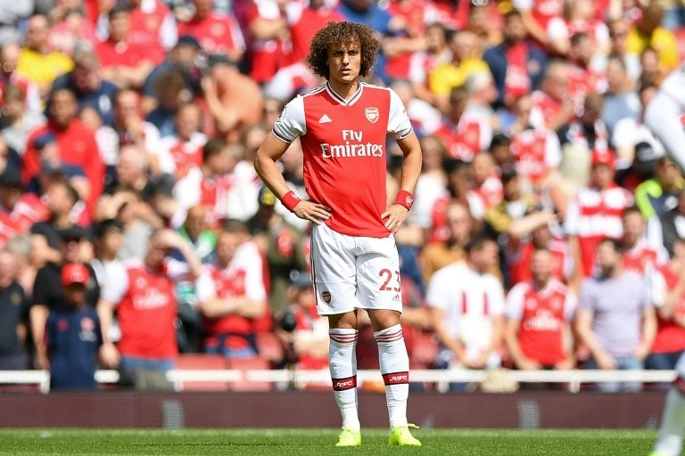 David Luiz was at fault for two of Liverpool's goals in a 3-1 win over Arsenal. Photo: AFP / Daniel Leal-Olivas
