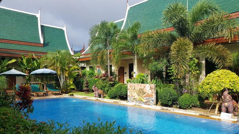 Villa Angelica is a verdant oasis.
