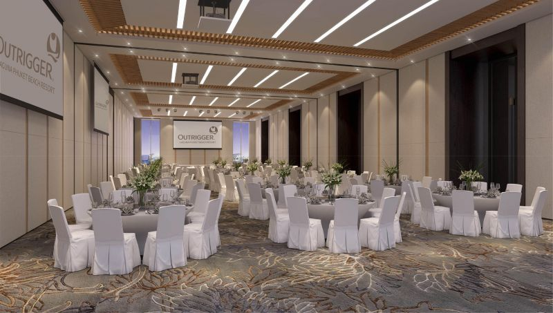Outrigger Laguna Phuket Beach Resort will open its new Similan Ballroom meetings and events centre in January.