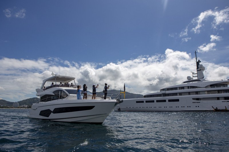 The Kata Rocks Superyacht Rendezvous (KRSR) is expanding its environmental and marine conservation efforts on top of promoting yachting and luxury lifestyle in the region. Photo: Supplied