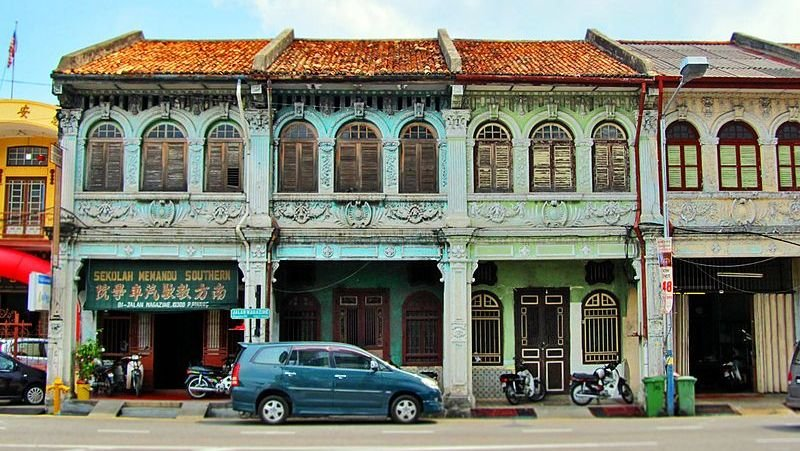 Penang's colonial past is evident in George Town. Photo: Vnonymous