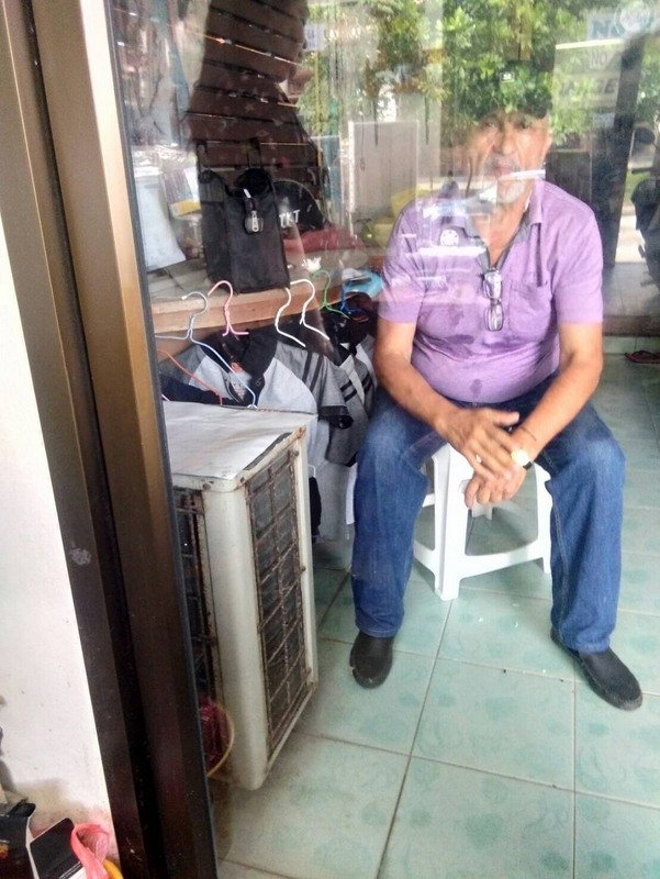 Police have yet to learn anything about the man who walked away from a currency-exchange booth with US$30,000. Photo: Patong Police