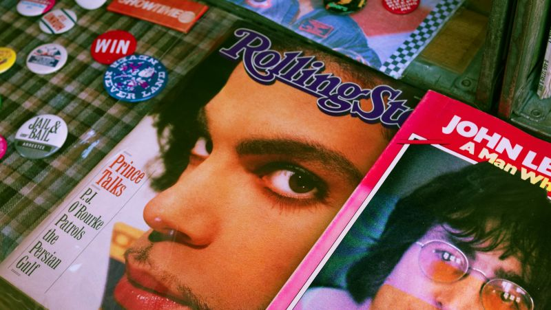 Prince's back catalogue will have him adorning front covers long after we're gone Photo: Doyoun Seo / Unsplash