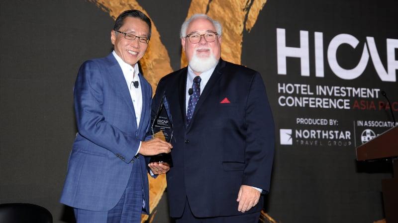 Banyan Tree, Laguna founder KP Ho bestowed HICAP Lifetime Achievement Award