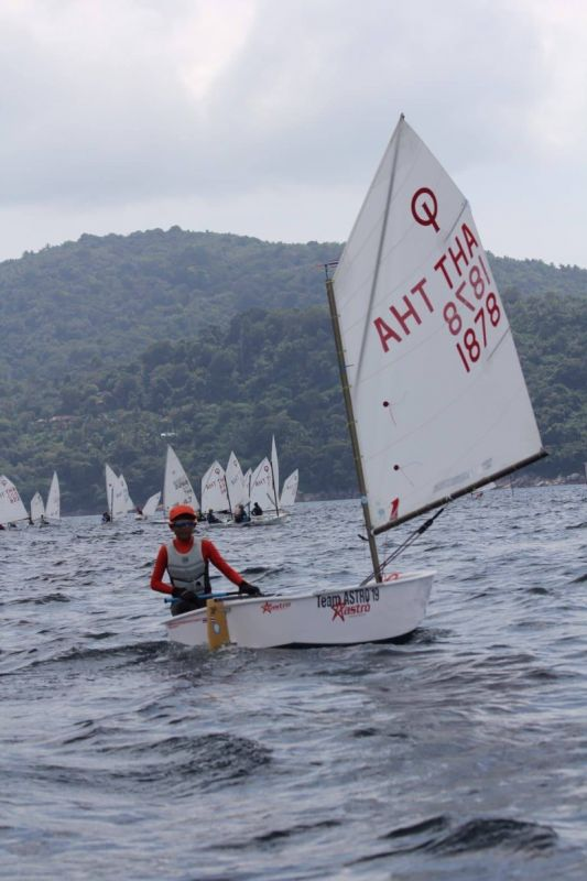 A total of 126 sailors are racing in the International Dinghy Classes, which are being held off Kata Beach. Photo: King's Cup Regatta