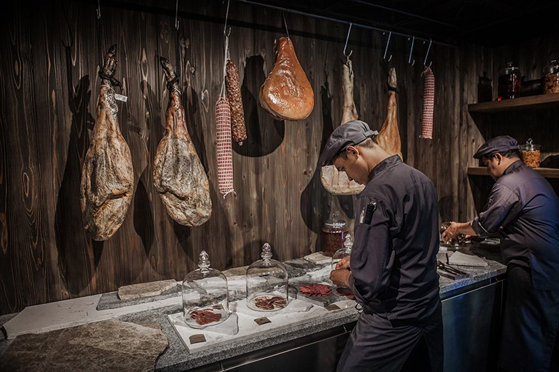 Diners can hand pick from the finest cuts of meat. Photo: Supplied