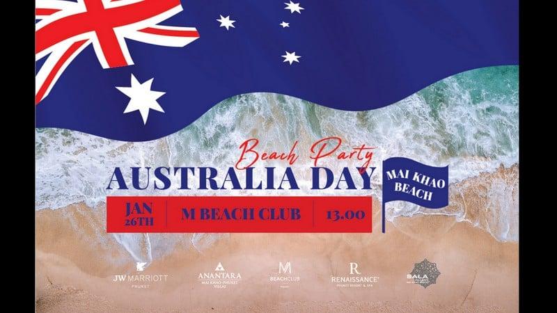 Destination Mai Khao Beach to host Phuket's biggest Australia Day party