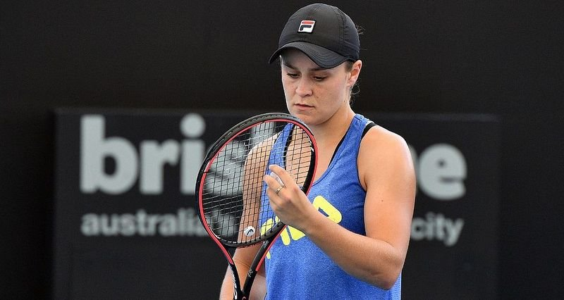 World Women's Number One Ashleigh Barty has lent significant support to aid relief efforts. Photo: AFP
