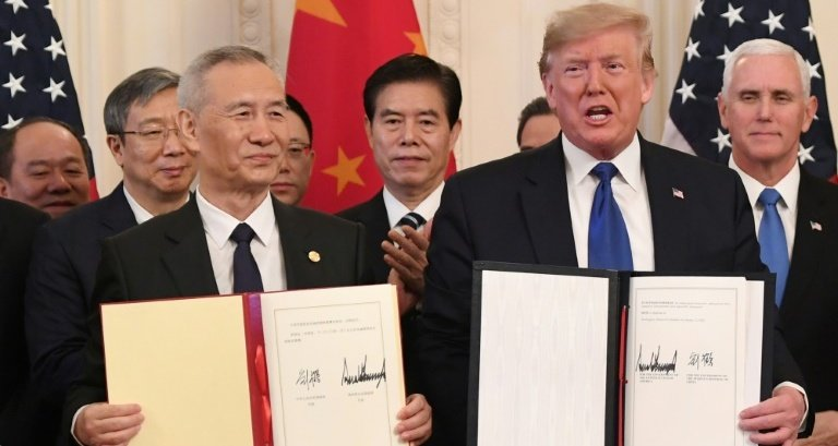 US and China finally agree and sign trade deal