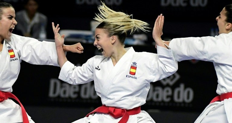 Karate will have a short stint as an Olympic sport. Photo: AFP