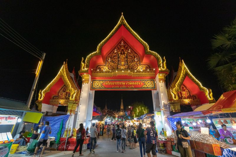 The 112th Wat Chalong Fair is now on