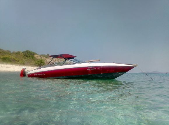 USA Chevy V8 Speed Boat 24ft