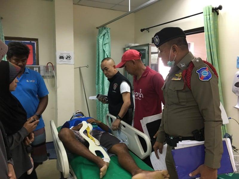 Twenty people were rushed to hospital. Photo: Eakkapop Thongtub