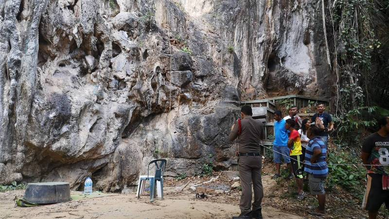 Woman dies in rock-climbing fall in Ao Nang
