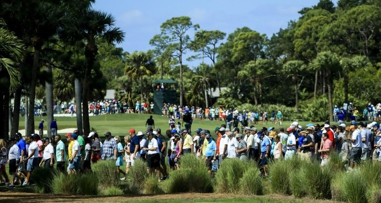 Spectators will be barred from attending PGA Tour events until at least next month's Masters. Photo: AFP