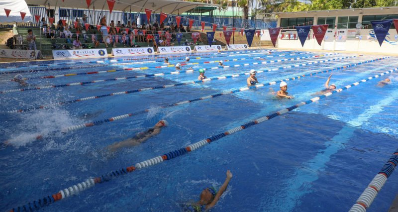 BISP swimmers show progress at Club Champs