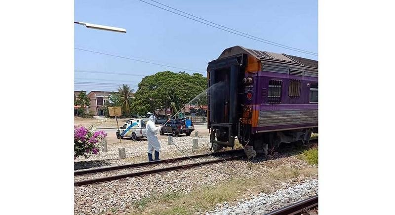 Passenger with COVID-19 dies on train