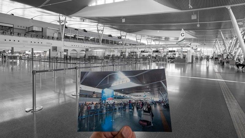 Phuket airport empty as inbound international flight ban kicks in