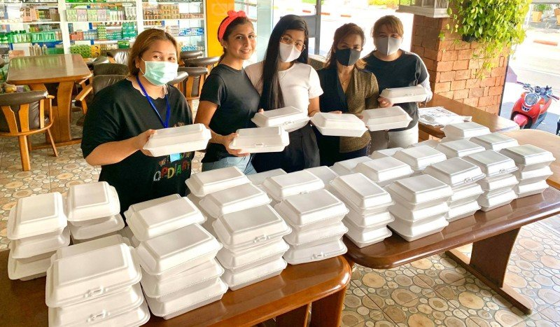 Phuket pulls together to provide free food for those in need