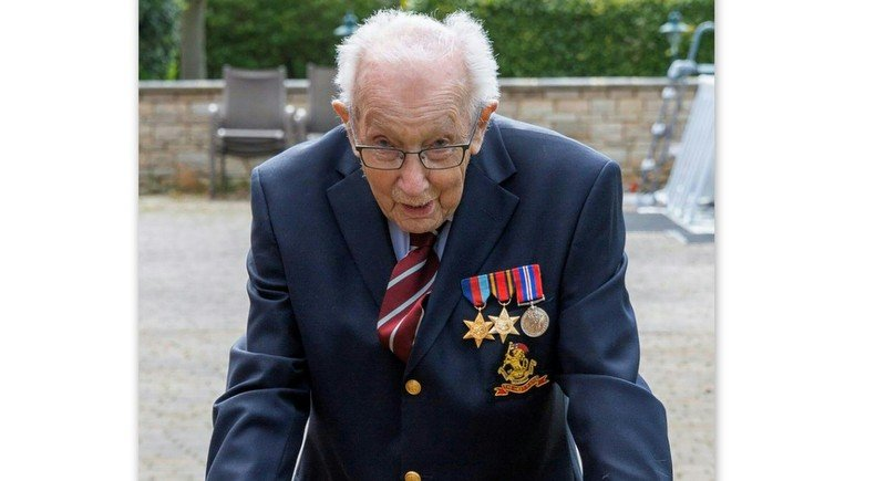WWII veteran, 99, raises almost £12m for UK health workers