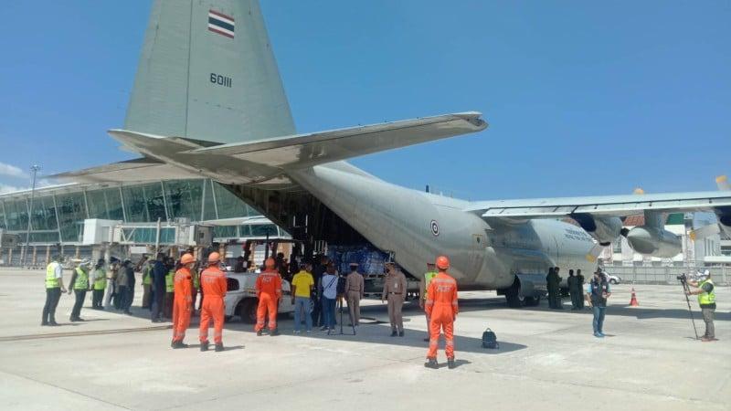 Nine tonnes of rice lands in Phuket in fish-exchange with sea gypsies