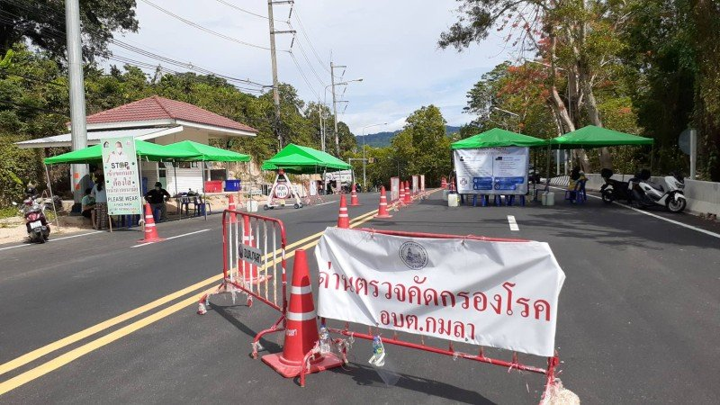 residents may leave Kamala and return, but only with written permission, while no other people will be allowed to enter the subdistrict until at least May 15. Photo: Kamala OrBorTor