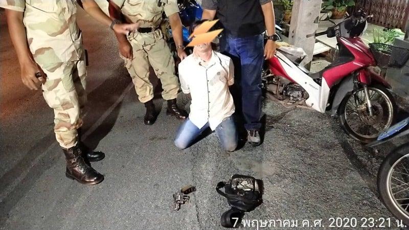 People in Phuket continue to break the national nightly curfew. Photo: Eakkapop Thongtub