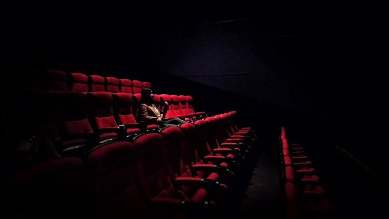 The normalisation of people viewing major films launched online already may have a deep impact on future cinema attendance. Photo: Karen Zhao / Unsplash