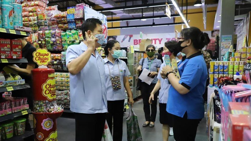 Phuket health teams inspect businesses allowed to open