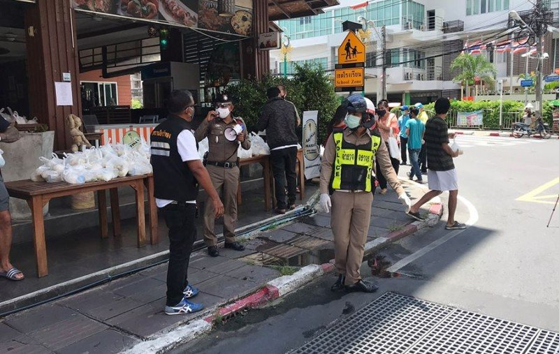 The 41 officers tested negative for COVID-19 and remain on duty. Photo: Patong Police