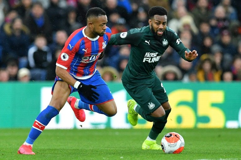 Newcastle's Danny Rose does not agree with 'Project Restart'. Photo: AFP