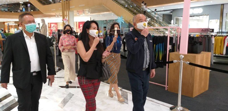 Masses venture out as Phuket shopping malls re-open