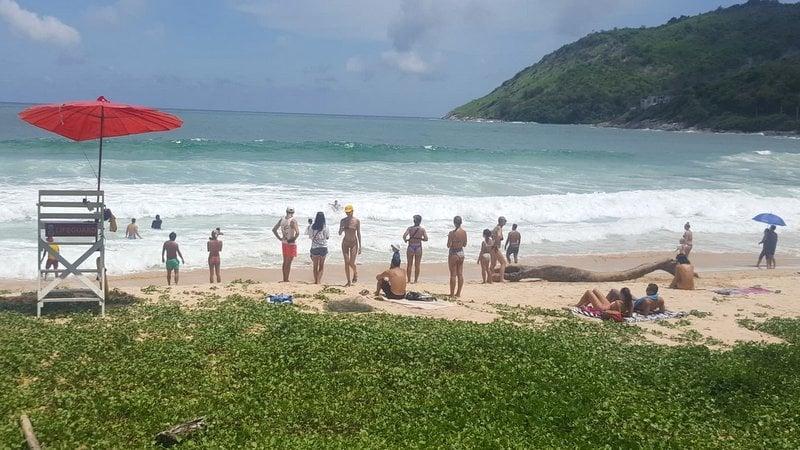 Phuket beaches open