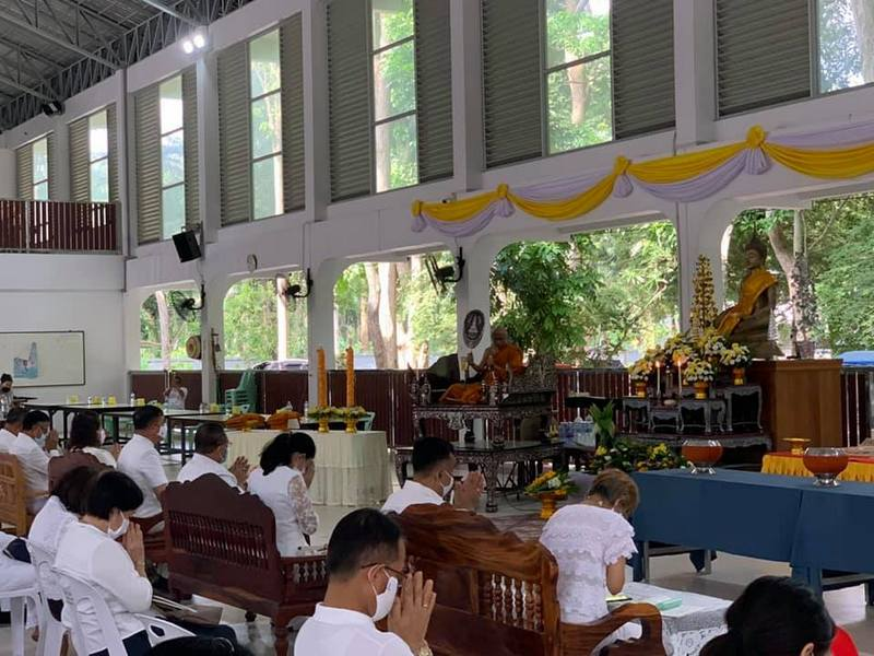 The main ceremony was held at Wat Tha Reua in Srisoonthorn yesterday (July 5). Photo: PR Phuket