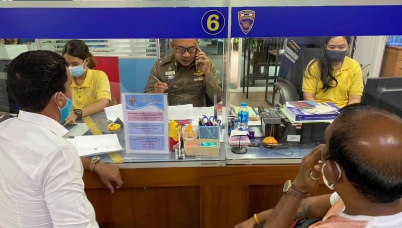 Phuket Immigration confirms no fee for letter confirming address
