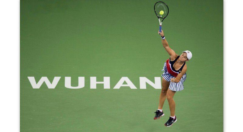 The WTA Wuhan Open is among the events that have been cancelled. Photo: AFP