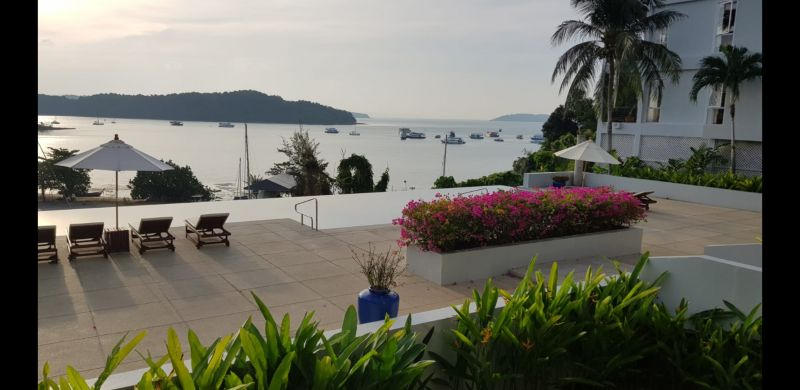 Beautiful Phuket condo with a view of the islands