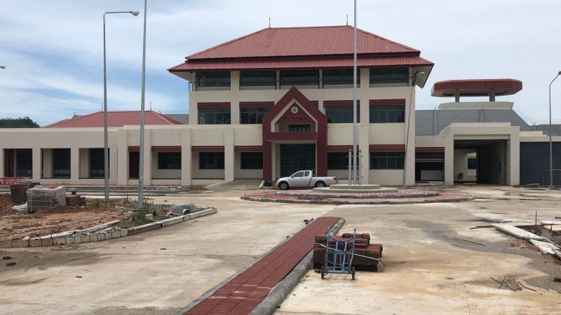 The new Phuket Provincial Prison is expected to receive inmates in January. Photo: Dept of Corrections Phuket office