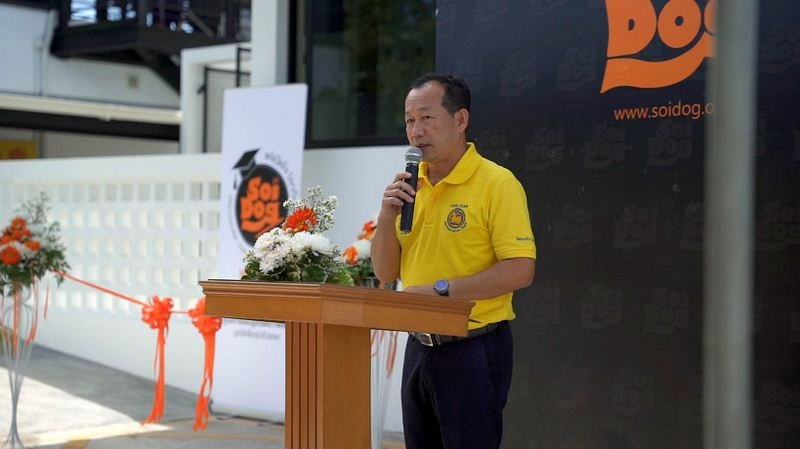 Soi Dog Foundation officially opened its Humane Education Centre yesterday (Nov 23), the first of its kind in Thailand dedicated to the welfare of stray animals. Photo: Soi Dog Foundation