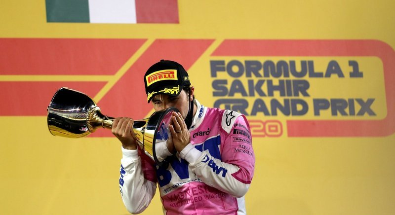 From last to first, Perez finally wins in Sakhir thriller
