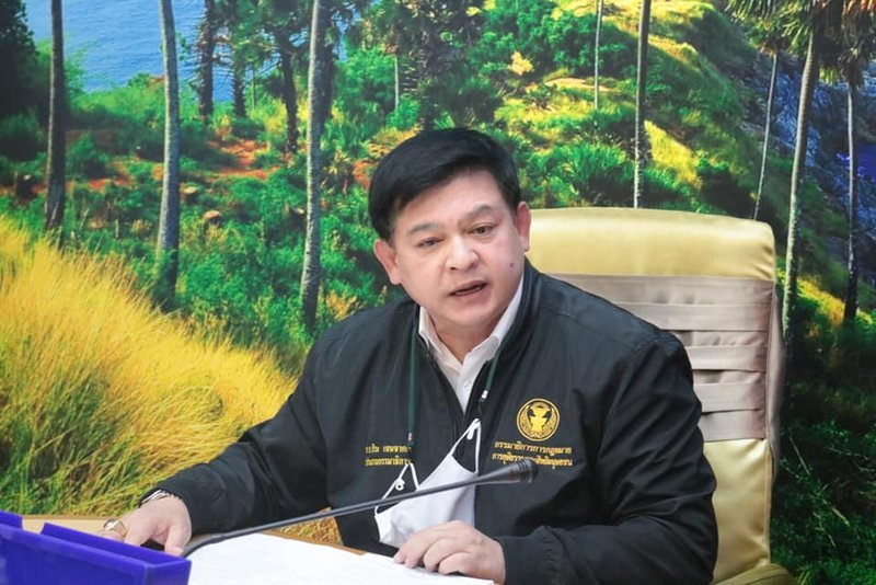 MP Sira Jenjaka delivered the order in person in Phuket today (Dec 21). Photo: PR Phuket